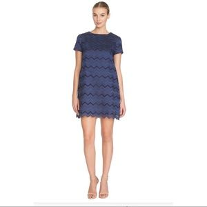 CeCe by Cynthia Steffens Kayte Chevron Dress